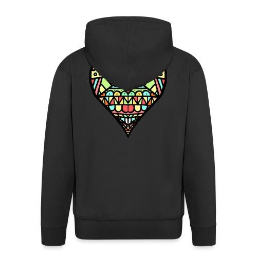 Heart - Chaqueta con capucha premium hombre