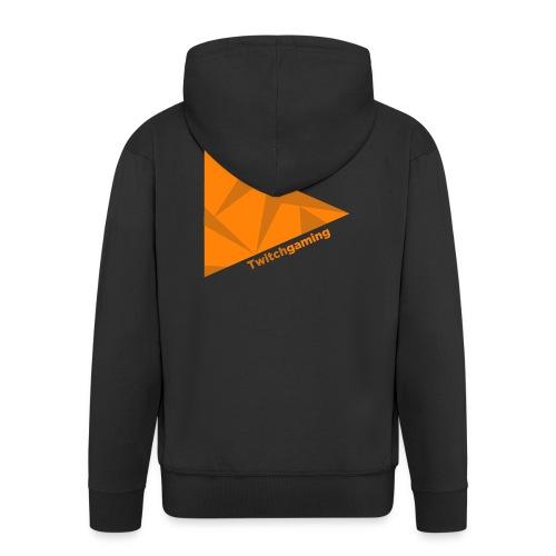 HotPans Twitchgaming Logo hinten - Männer Premium Kapuzenjacke