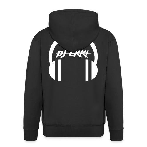 DJ Ekki Headphones - Männer Premium Kapuzenjacke