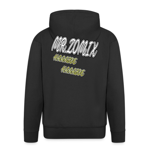 HAAAJDE Mr. Zomix - Männer Premium Kapuzenjacke