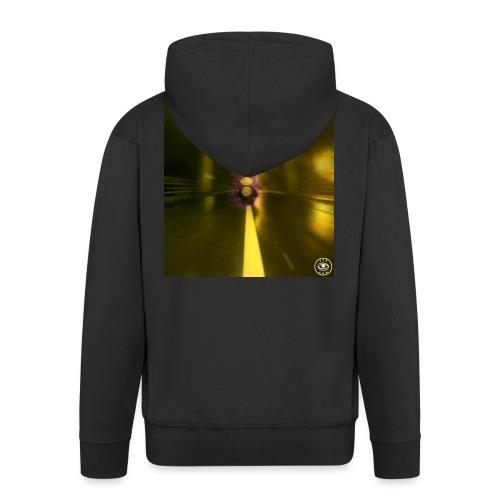 the 2nd sense tape jpg - Men's Premium Hooded Jacket