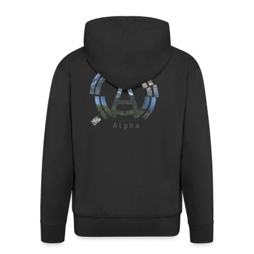 AlphaOfficial Logo T-Shirt - Men's Premium Hooded Jacket