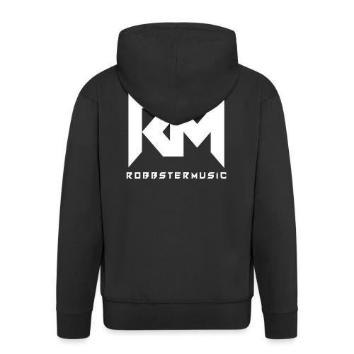 Original RM-Logo White - Männer Premium Kapuzenjacke