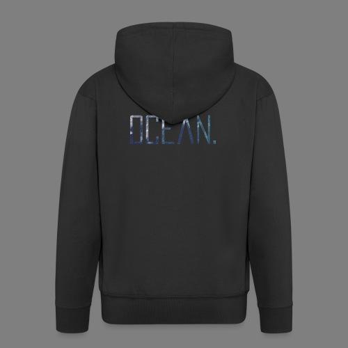 Ocean - Chaqueta con capucha premium hombre