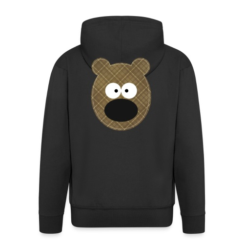 Little Bear - Felpa con zip Premium da uomo
