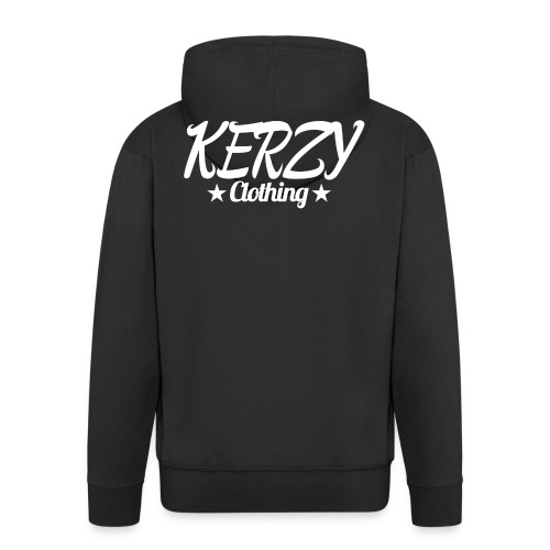 Official KerzyClothing T-Shirt - Men's Premium Hooded Jacket