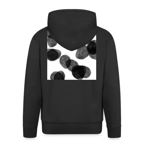 Black clouds - Men's Premium Hooded Jacket