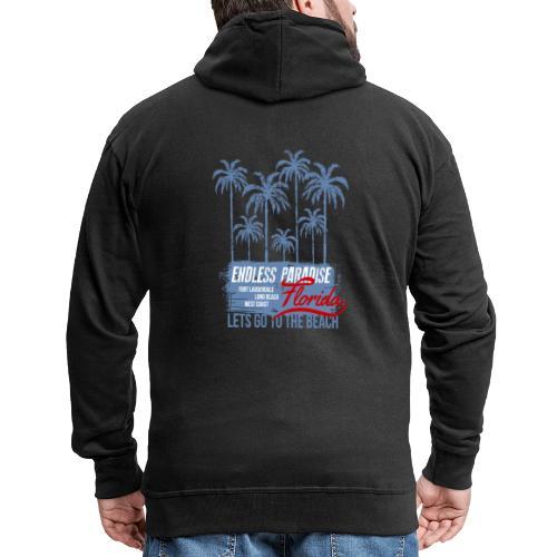 Palms Paradise - Männer Premium Kapuzenjacke