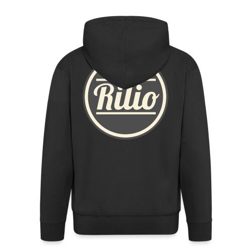 RILIO - Felpa con zip Premium da uomo