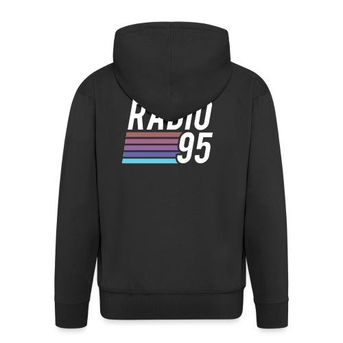 Il serbatoio superiore (Canotta) di Radio95! - Felpa con zip Premium da uomo