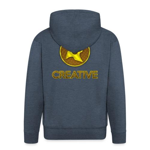 Creative logo shirt - Herre premium hættejakke