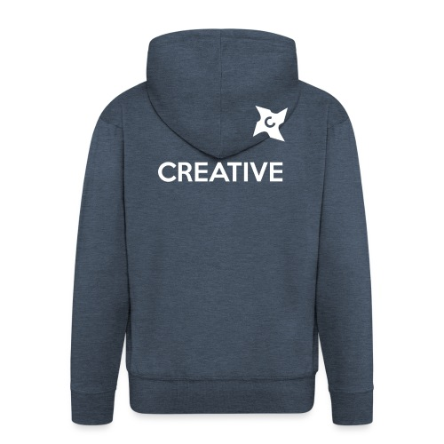 Creative long urban shirt - Herre premium hættejakke