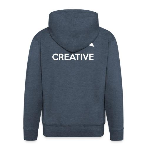 Creative simple black and white shirt - Herre premium hættejakke