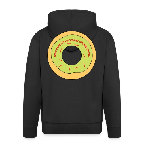 Donut Come For Me Red - Men's Premium Hooded Jacket
