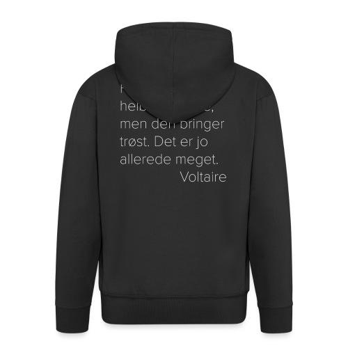 Voltaire om filosofien - Premium Hettejakke for menn