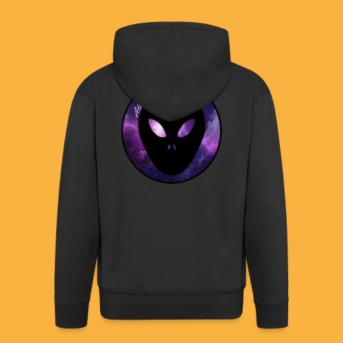 alienblack - Männer Premium Kapuzenjacke