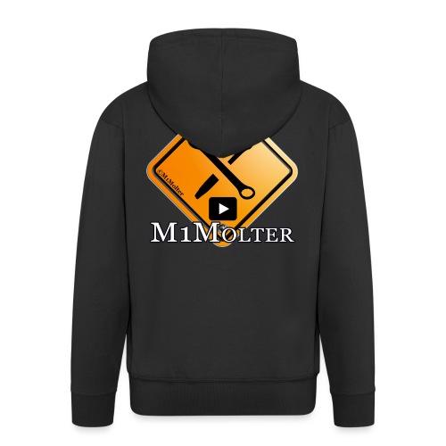 M1Molter Logo - Männer Premium Kapuzenjacke