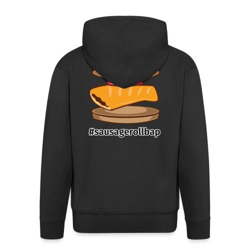 Sausage Roll Bap - Men's Premium Hooded Jacket