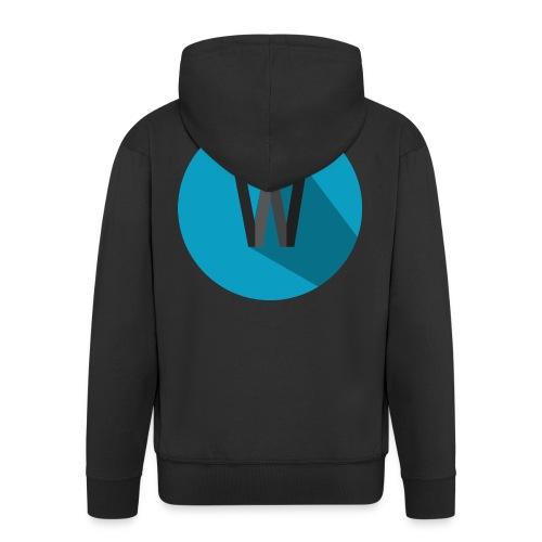 Weekiewee logo - Men's Premium Hooded Jacket