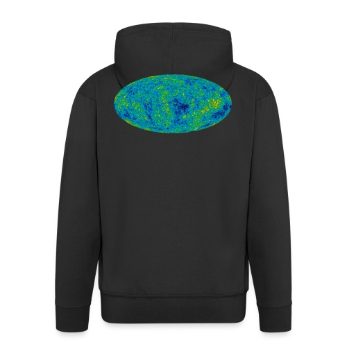 Cosmic Microwave Background - Männer Premium Kapuzenjacke