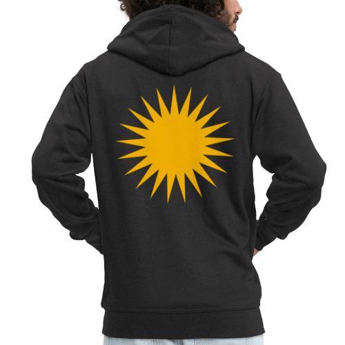 Kurdische Sonne Symbol - Männer Premium Kapuzenjacke