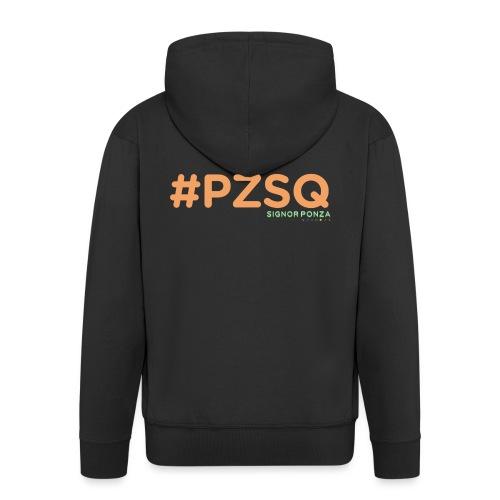 PZSQ - Felpa con zip Premium da uomo