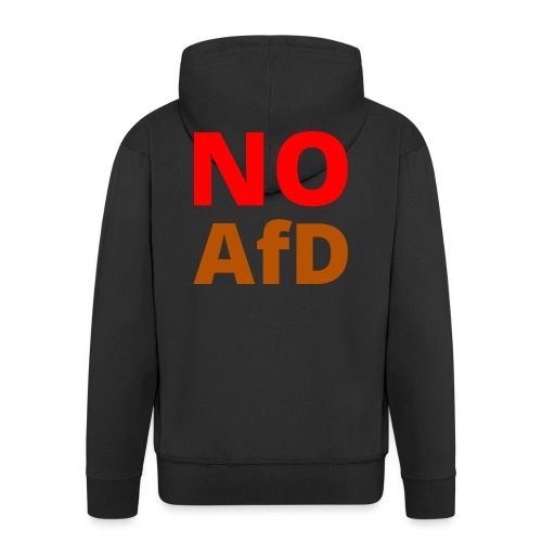 No AfD Keine AfD - Männer Premium Kapuzenjacke