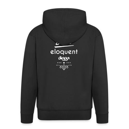Derbe Eloquent Digga Weiß - Men's Premium Hooded Jacket