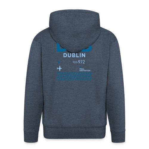 Dublin Ireland Travel - Men's Premium Hooded Jacket