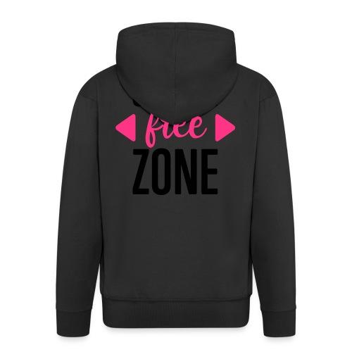 Silicon-free-Zone - Männer Premium Kapuzenjacke