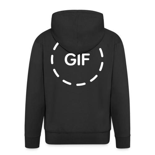 Logo GIF - Chaqueta con capucha premium hombre