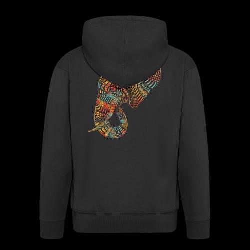 elefante colors - Chaqueta con capucha premium hombre