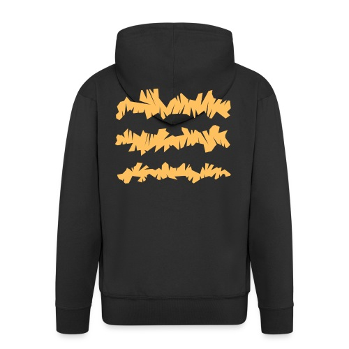 Orange_Sample.png - Männer Premium Kapuzenjacke