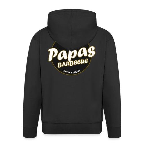 Papas Barbecue ist das Beste (Premium Shirt) - Männer Premium Kapuzenjacke