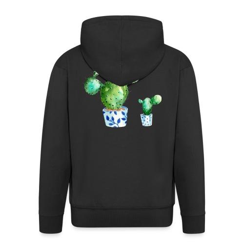 Kaktus - Men's Premium Hooded Jacket