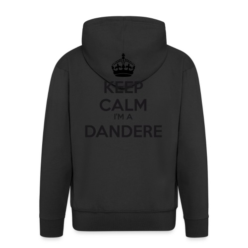 Dandere keep calm - Men's Premium Hooded Jacket