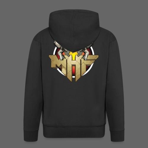 new mhf logo - Men's Premium Hooded Jacket