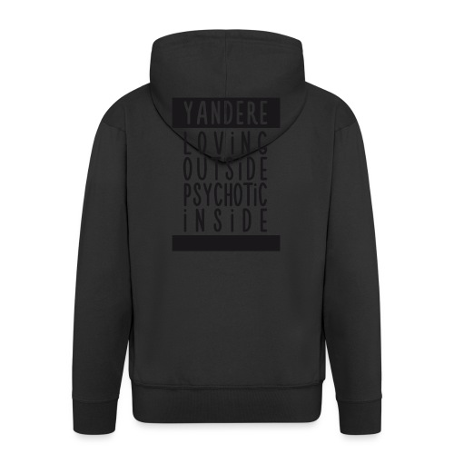 Yandere manga - Men's Premium Hooded Jacket