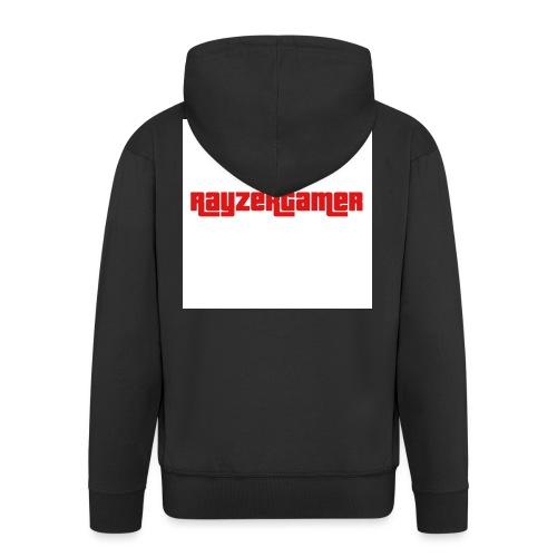 RayZerGamer logo - Men's Premium Hooded Jacket