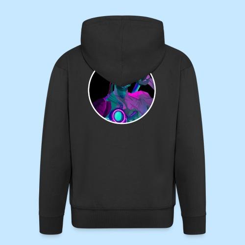 Neon Genji - Men's Premium Hooded Jacket