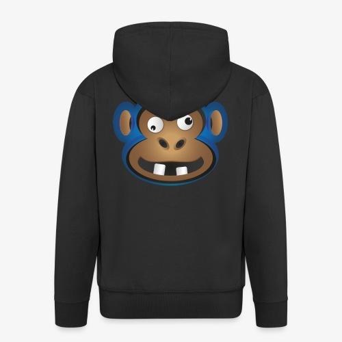 Affenbande Schimpanse - Männer Premium Kapuzenjacke