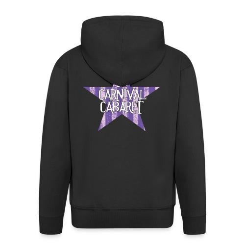 bonnet LCC noir etoie violette - Men's Premium Hooded Jacket