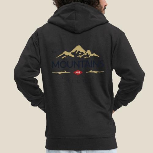 Outdoor mountain - Veste à capuche Premium Homme