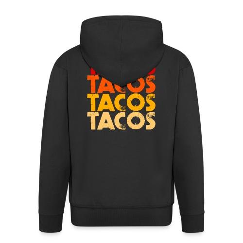 Tacos - Männer Premium Kapuzenjacke