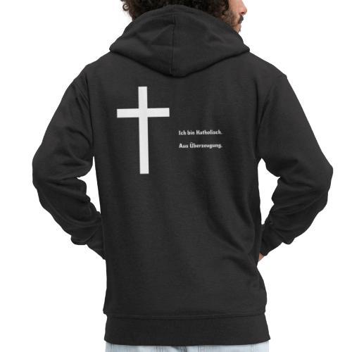 Ich bin katholisch. Aus Überzeugung. - Männer Premium Kapuzenjacke