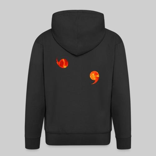 Genjustu brûlant - Veste à capuche Premium Homme