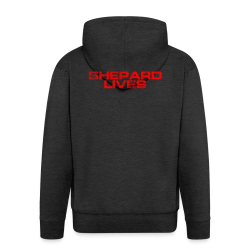 Shepard lives - Men's Premium Hooded Jacket