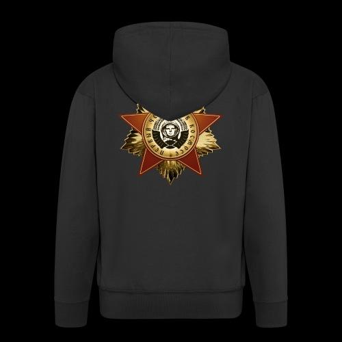 Cosmonaut Medal - Men's Premium Hooded Jacket