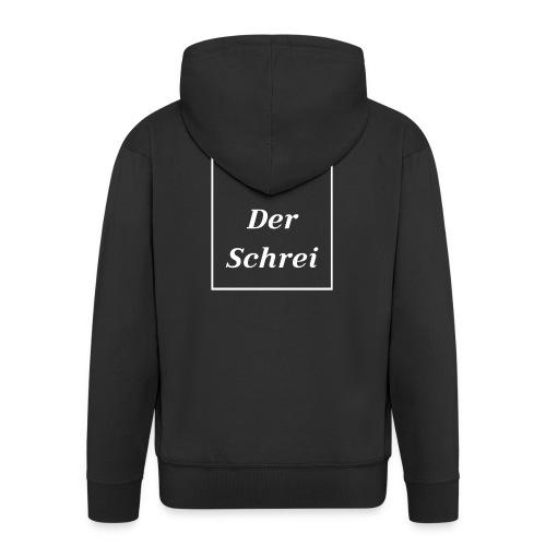 Der Schrei Munch Eduard Expressionismus Kunst Bild - Männer Premium Kapuzenjacke