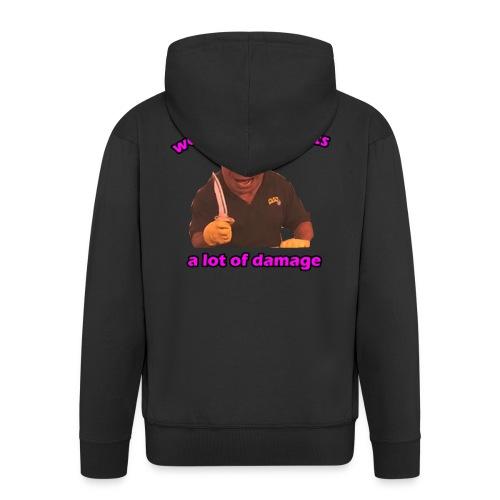 Phil Swift Damage - Men's Premium Hooded Jacket